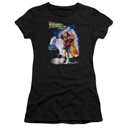 Back To The Future Ii - Juniors Poster Premium Bella T-Shirt