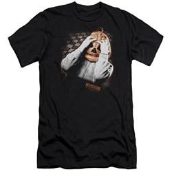 Halloween Iii - Mens Pumpkin Mask Premium Slim Fit T-Shirt