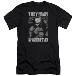 Shaun Of The Dead - Mens Still Out There Premium Slim Fit T-Shirt