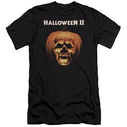 Halloween Ii - Mens Pumpkin Shell Premium Slim Fit T-Shirt
