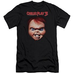 Childs Play 3 - Mens Chucky Premium Slim Fit T-Shirt