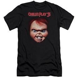 Childs Play 3 - Mens Chucky Premium Slim Fit T-Shirt