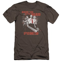 Shaun Of The Dead - Mens Bash Em Premium Slim Fit T-Shirt