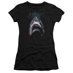 Jaws - Juniors Terror In The Deep Premium Bella T-Shirt