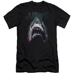 Jaws - Mens Terror In The Deep Premium Slim Fit T-Shirt