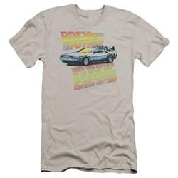 Back To The Future - Mens 88 Mph Premium Slim Fit T-Shirt