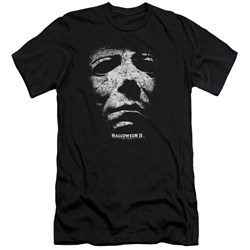Halloween Ii - Mens Mask Premium Slim Fit T-Shirt
