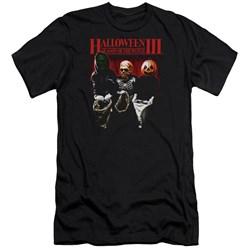 Halloween Iii - Mens Trick Or Treat Premium Slim Fit T-Shirt