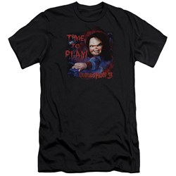 Childs Play 3 - Mens Time To Play Premium Slim Fit T-Shirt