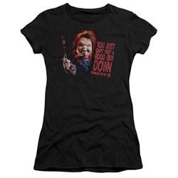 Childs Play 3 - Juniors Good Guy Premium Bella T-Shirt