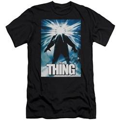 Thing - Mens Poster Premium Slim Fit T-Shirt