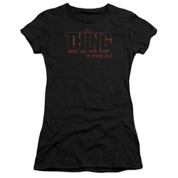 Thing - Juniors Fear Premium Bella T-Shirt