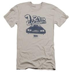 Back To The Future - Mens Gigawatts Premium Slim Fit T-Shirt