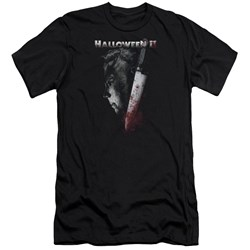 Halloween Ii - Mens Cold Gaze Premium Slim Fit T-Shirt