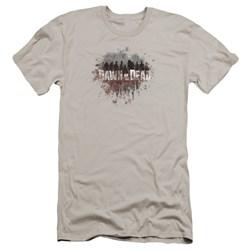 Dawn Of The Dead - Mens Creeping Shadows Premium Slim Fit T-Shirt
