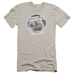 Back To The Future Ii - Mens Synchronize Watches Premium Slim Fit T-Shirt