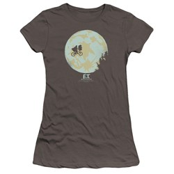 Et - Juniors In The Moon Premium Bella T-Shirt