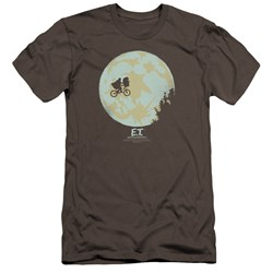Et - Mens In The Moon Premium Slim Fit T-Shirt