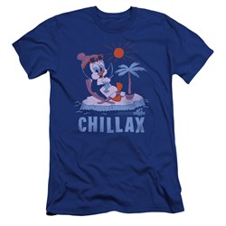 Chilly Willy - Mens Chillax Premium Slim Fit T-Shirt