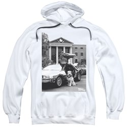Back To The Future Ii - Mens Einstein Pullover Hoodie