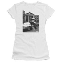 Back To The Future Ii - Juniors Einstein Premium Bella T-Shirt