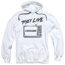 They Live - Mens Consume Pullover Hoodie