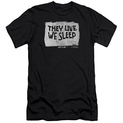 They Live - Mens We Sleep Premium Slim Fit T-Shirt