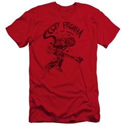Scott Pilgrim - Mens Rockin Premium Slim Fit T-Shirt