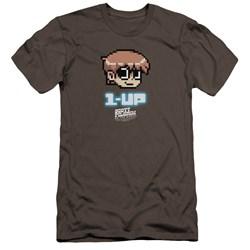 Scott Pilgrim - Mens 1 Up Premium Slim Fit T-Shirt