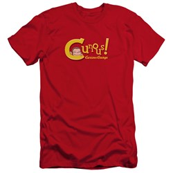 Curious George - Mens Curious Premium Slim Fit T-Shirt