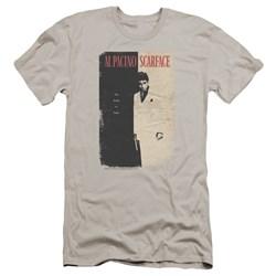 Scarface - Mens Vintage Poster Premium Slim Fit T-Shirt