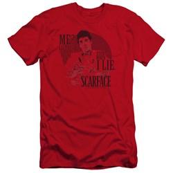 Scarface - Mens Truth Premium Slim Fit T-Shirt