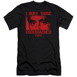 Scarface - Mens Cockroaches Premium Slim Fit T-Shirt