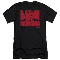 Scarface - Mens Montana Face Premium Slim Fit T-Shirt