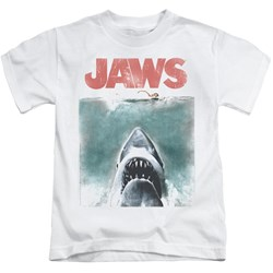 Jaws - Youth Vintage Poster T-Shirt