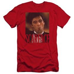 Scarface - Mens Smoking Cigar Premium Slim Fit T-Shirt