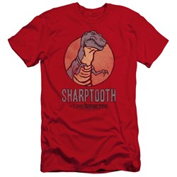 Land Before Time - Mens Sharptooth Premium Slim Fit T-Shirt