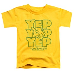 Land Before Time - Toddlers Yep Yep Yep T-Shirt