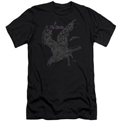 Birds - Mens Poster Premium Slim Fit T-Shirt
