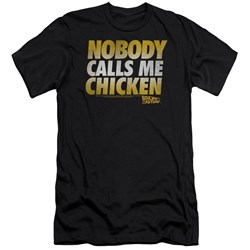 Back To The Future - Mens Chicken Premium Slim Fit T-Shirt