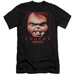 Childs Play - Mens Chucky Squared Premium Slim Fit T-Shirt