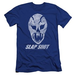Slap Shot - Mens The Mask Premium Slim Fit T-Shirt
