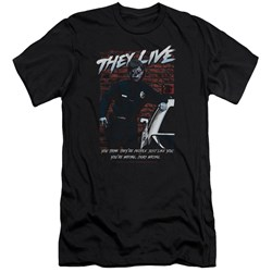 They Live - Mens Dead Wrong Premium Slim Fit T-Shirt