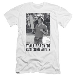 Dazed And Confused - Mens Paddle Premium Slim Fit T-Shirt