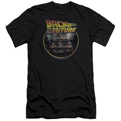 Back To The Future - Mens Back Premium Slim Fit T-Shirt