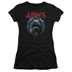 Jaws - Juniors Water Circle Premium Bella T-Shirt