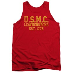 Us Marine Corps - Mens Leathernecks Tank Top