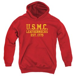 Us Marine Corps - Youth Leathernecks Pullover Hoodie