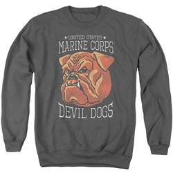 Us Marine Corps - Mens Devil Dogs Sweater