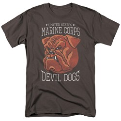 Us Marine Corps - Mens Devil Dogs T-Shirt